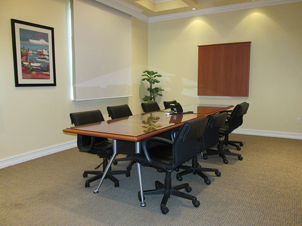 Each Office Has Its Own Entry Key And Own Uniqueness, Detailed With Crown  Molding, Privacy Window Treatments, U0026 Dimming Recessed Lights For ...